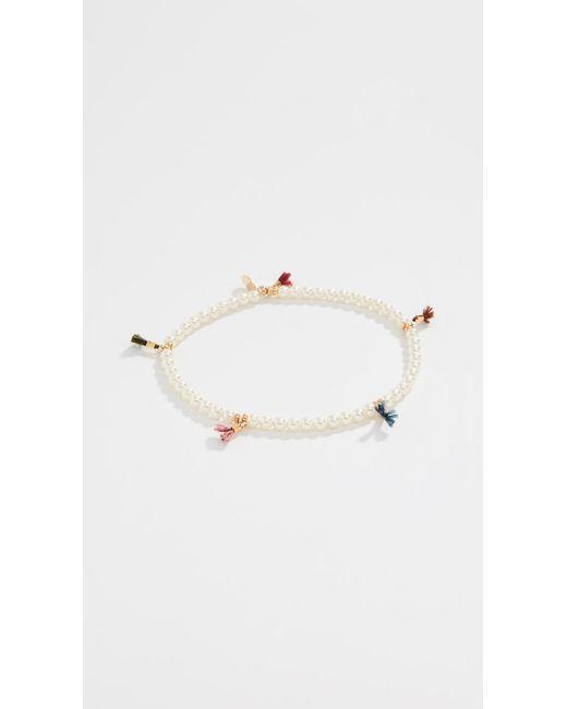 Shashi - Multicolor Lilu Imitation Pearl Bracelet - Lyst