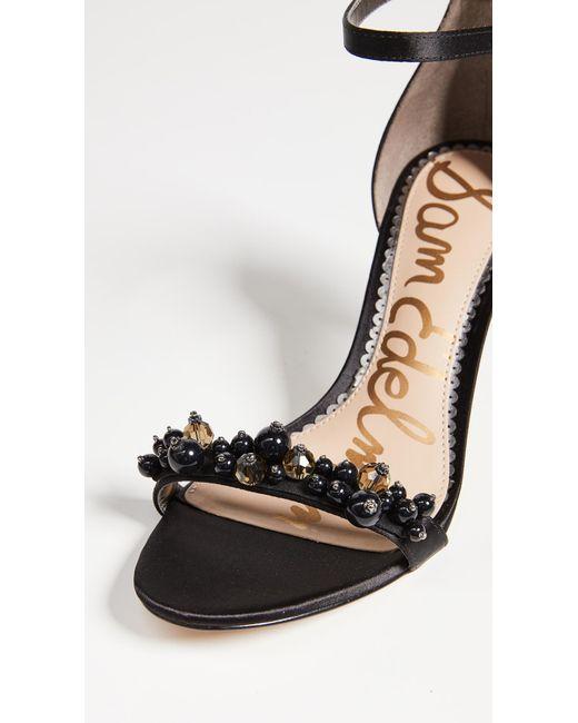 6041c7eb50a9 ... Sam Edelman - Black Platt Sandals - Lyst ...