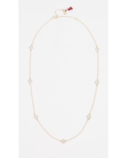 Shashi - Metallic Necklace By The Yard - Lyst