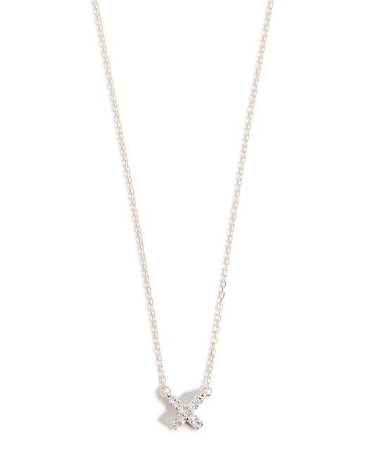 Adina Reyter 14k Gold Super Tiny Disc Necklace PNPM442Q