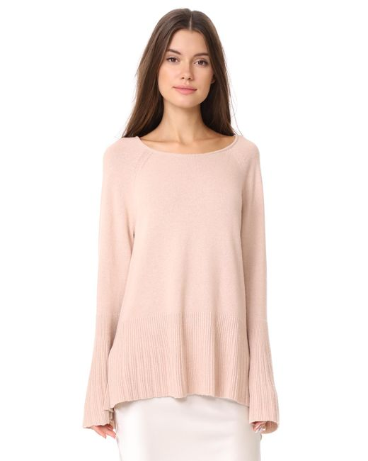 Elizabeth and James   Pink Clarette Wide Sleeve Sweater   Lyst