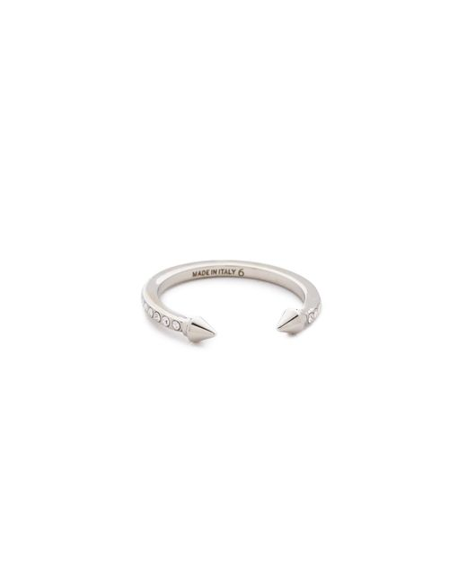 Vita Fede | Metallic Super Ultra Mini Titan Crystal Ring | Lyst
