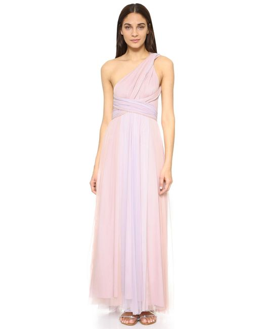 Twobirds | Pink Ombre Tulle Ballgown | Lyst