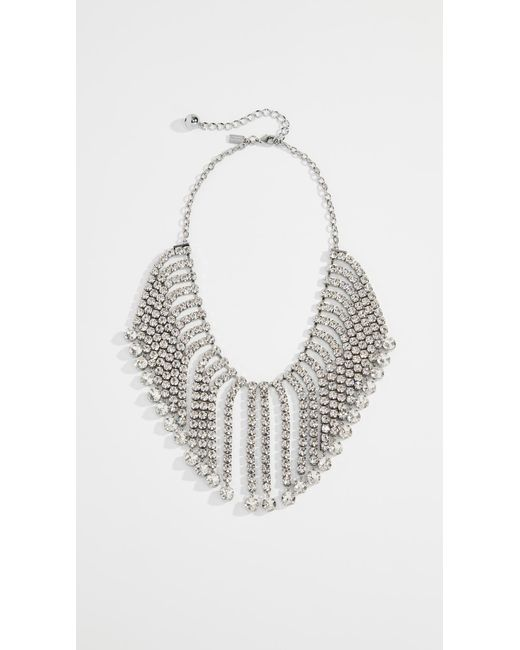Kate Spade - Multicolor Glitzville Fringe Collar Necklace - Lyst