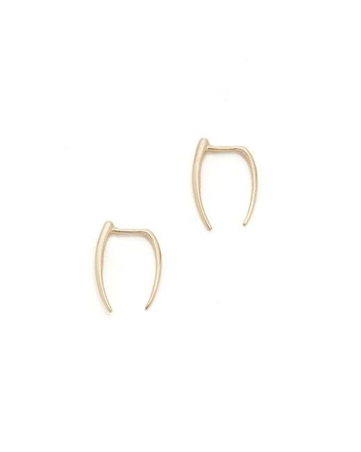 Gabriela Artigas - Metallic Infinite Tusk Earrings - Lyst