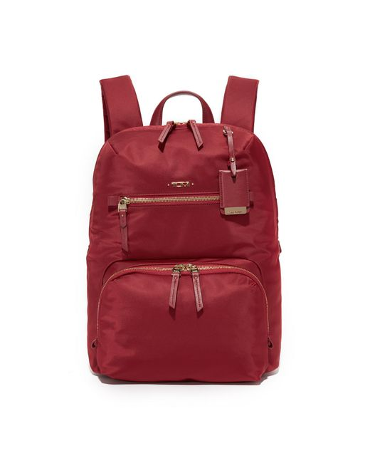 Tumi | Red Halle Backpack | Lyst