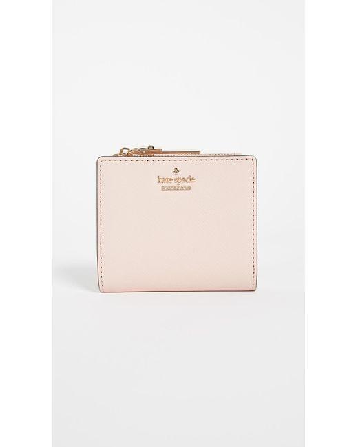Kate Spade - Pink Cameron Street Adalyn Mini Wallet - Lyst
