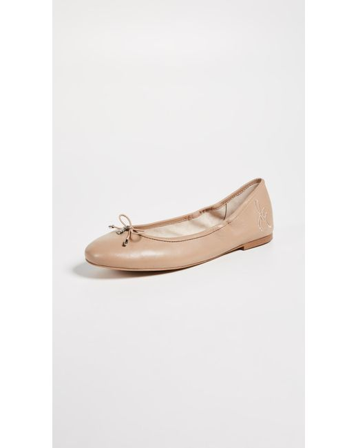 Sam Edelman - Natural Felicia Ballet Flats - Lyst