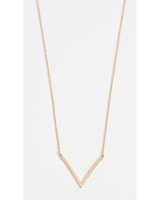 Jennifer Zeuner - Metallic Bianca Small Necklace - Lyst