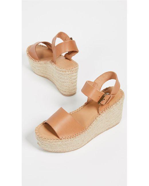 8c9261dd35b Soludos - Multicolor Minorca High Platform Sandals - Lyst ...