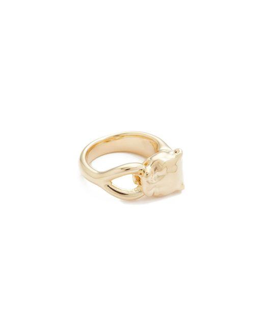 Soave Oro | Metallic Angelina Ring | Lyst