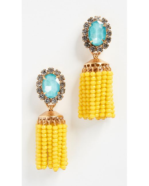Elizabeth Cole - Multicolor Cashel Earrings - Lyst