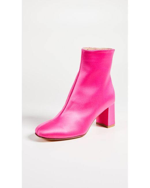 Maryam Nassir Zadeh - Pink Agnes Booties - Lyst