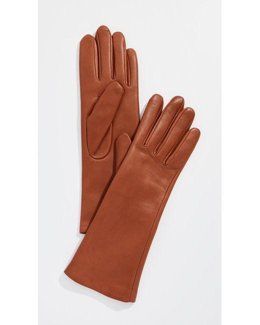 Agnelle - Brown Christina Gloves - Lyst