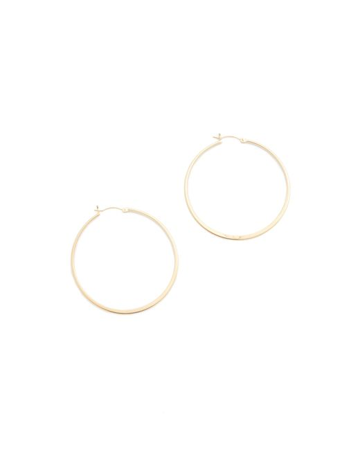 Jennifer Zeuner | Metallic Small Hoop Earrings | Lyst
