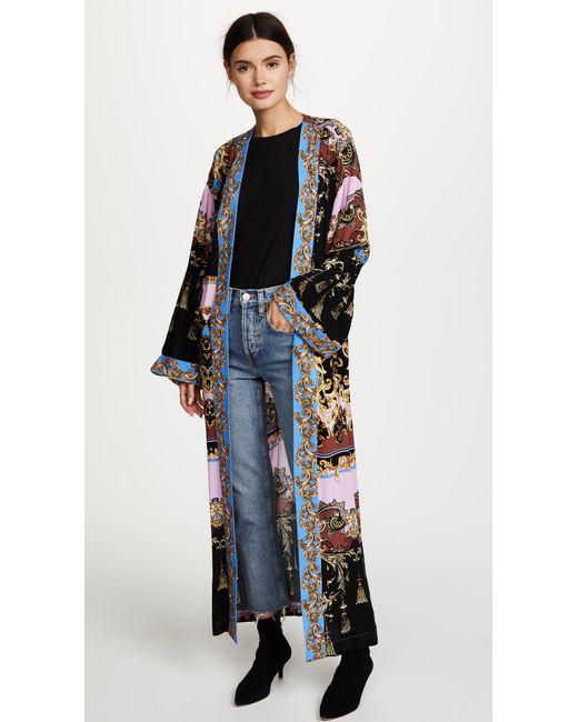 Free People | Purple Let's Dance Kimono | Lyst