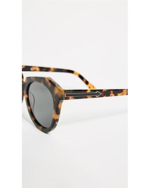 543d5fc68139 ... Karen Walker - Multicolor The Number One Sunglasses - Lyst ...