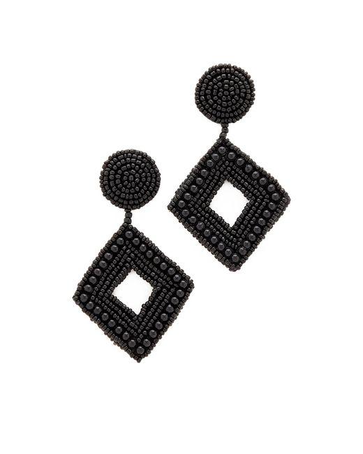 Kenneth Jay Lane | Black Drop Earrings | Lyst