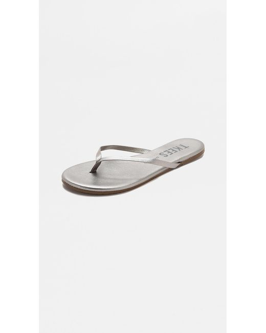 TKEES - Gray Shadow Flip Flops - Lyst