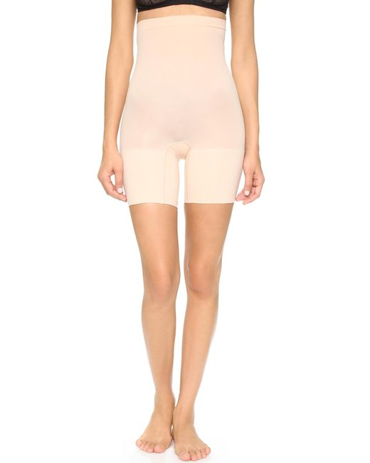 Spanx - Natural Higher Power Shorts - Lyst