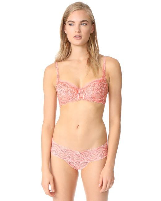 Skarlett Blue | Pink Minx Balconette Bra | Lyst