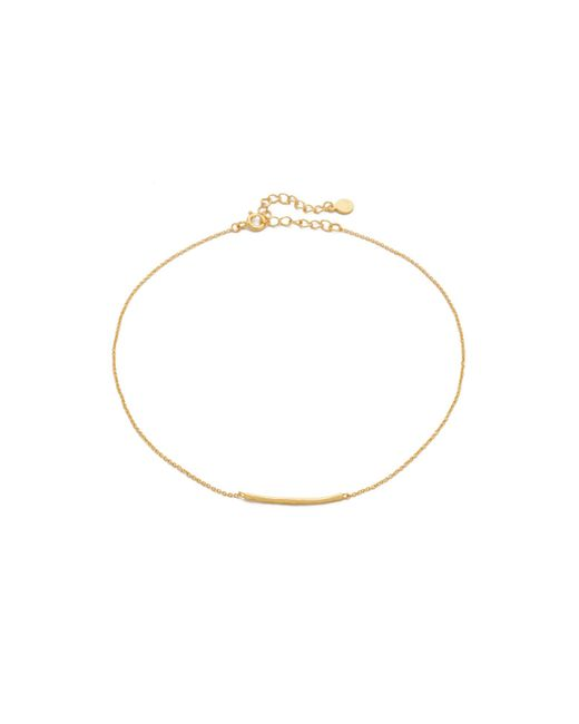 Gorjana - Metallic Taner Bar Choker Necklace - Lyst