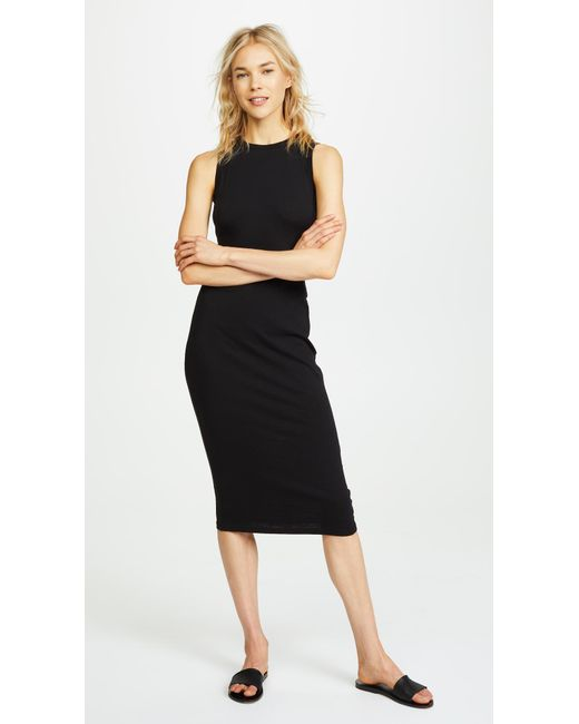 Sundry - Black Twisted Dress - Lyst