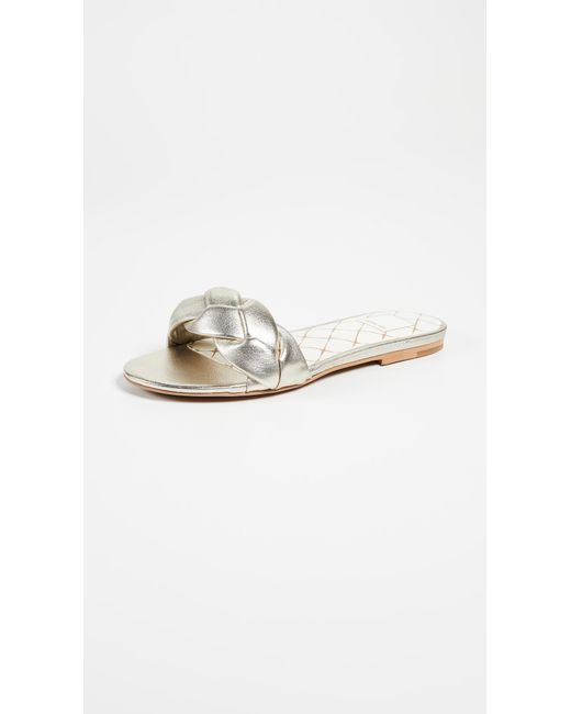 Dolce Vita - Metallic Kimana Braided Sandals - Lyst