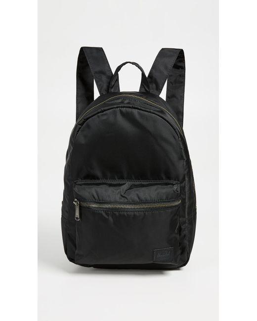 29fffeab1761 Herschel Supply Co. - Black Flight Satin Grove X Small Backpack - Lyst ...