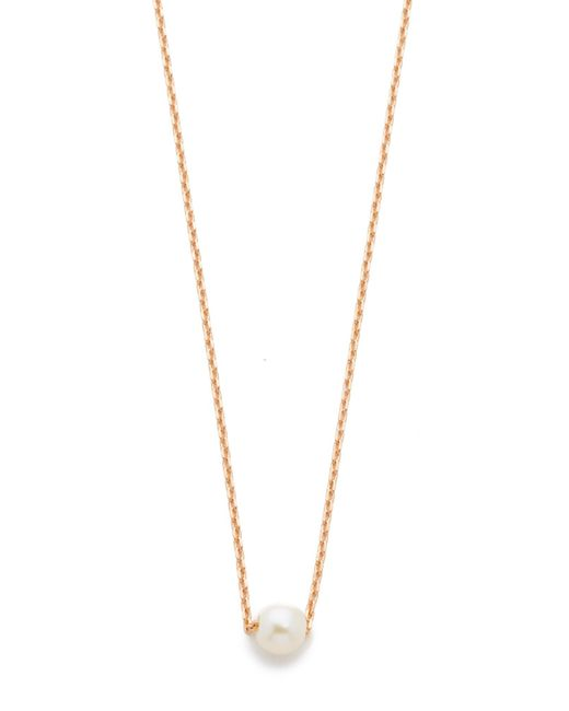 Cloverpost - Pink Freshwater Cultured Pearl Necklace - Lyst