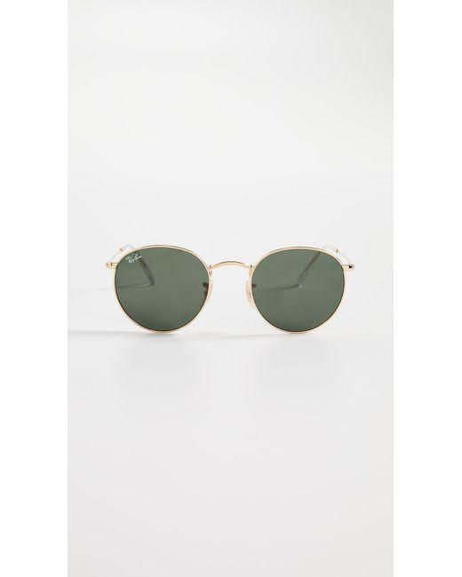 Ray-Ban - Green Rb3447 Phantos Round Sunglasses - Lyst