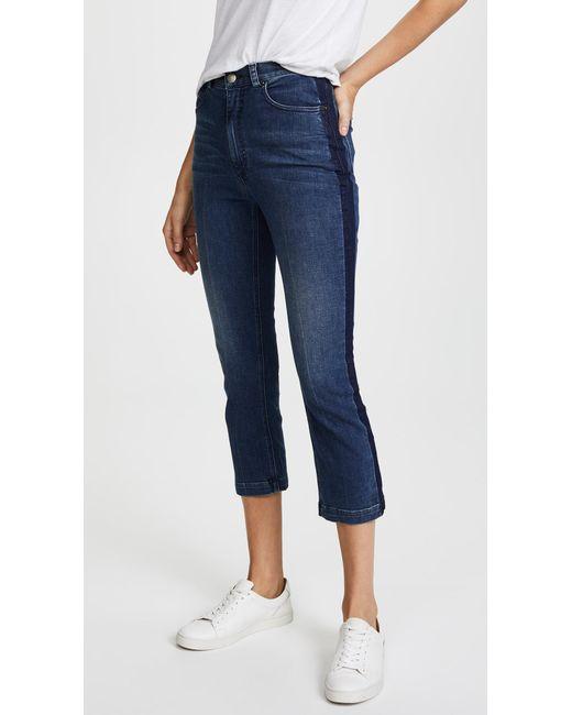 Rachel Comey - Blue Cropped Tux Jeans - Lyst