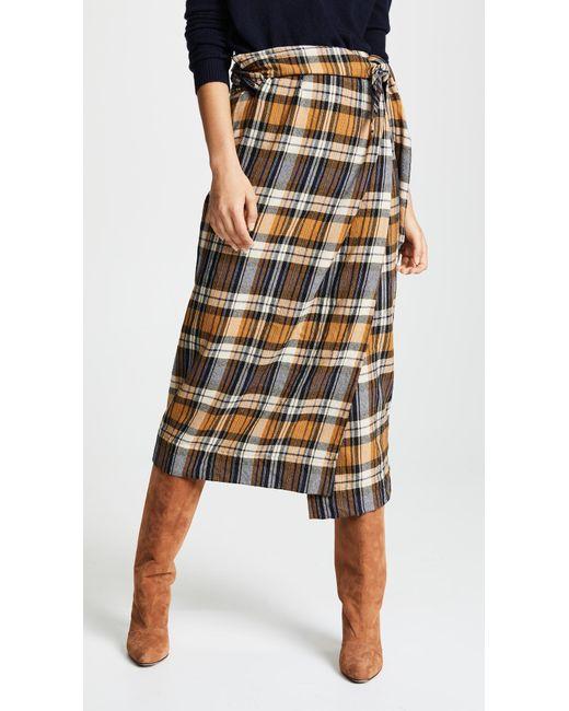 Forte Forte - Multicolor Tartan Skirt - Lyst