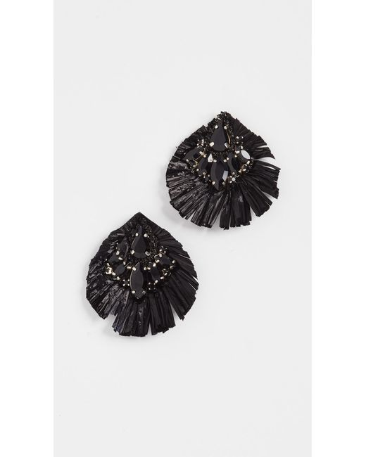 Deepa Gurnani | Black Deepa By Deepa Gurani Beth Earrings | Lyst