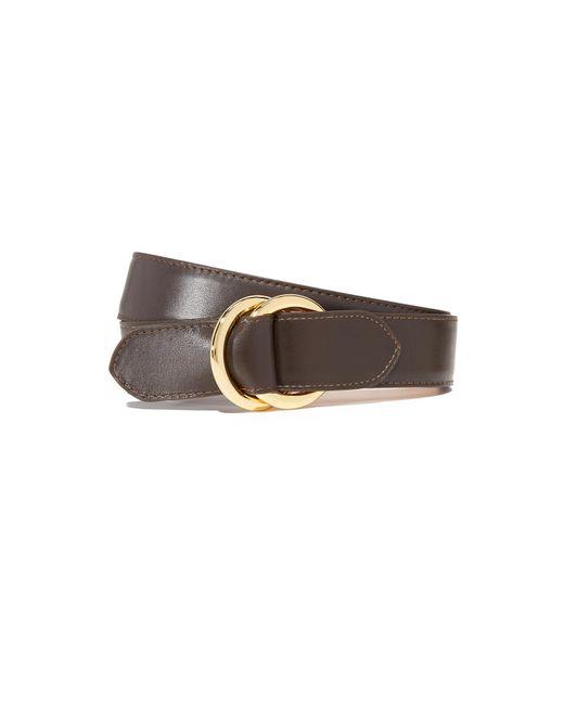 W. Kleinberg - Brown Leather O Ring Belt - Lyst