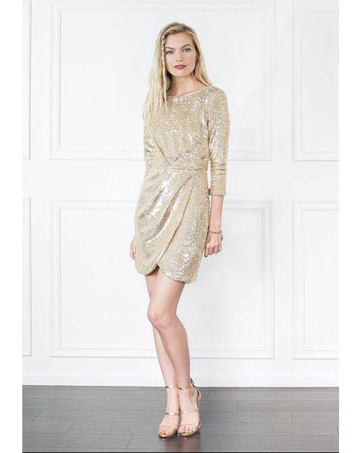 Rachel Zoe   Metallic Shelley Sequin Mini Dress   Lyst