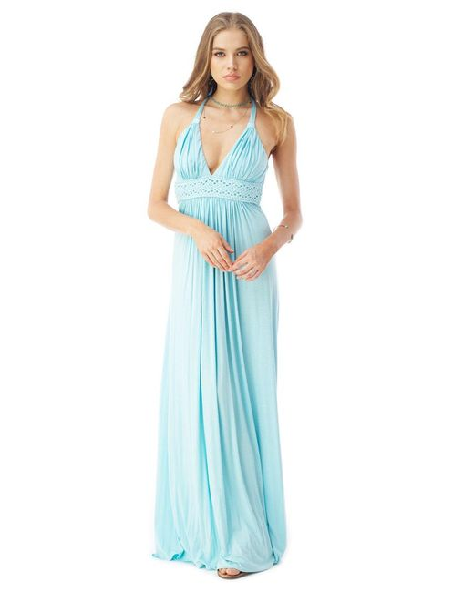 Sky - Blue Topangga Maxi Dress - Lyst