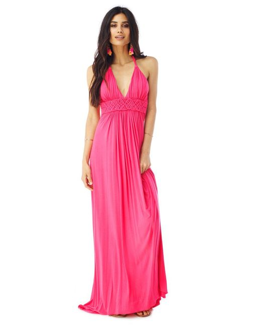 Sky - Pink Traciy Maxi Dress - Lyst