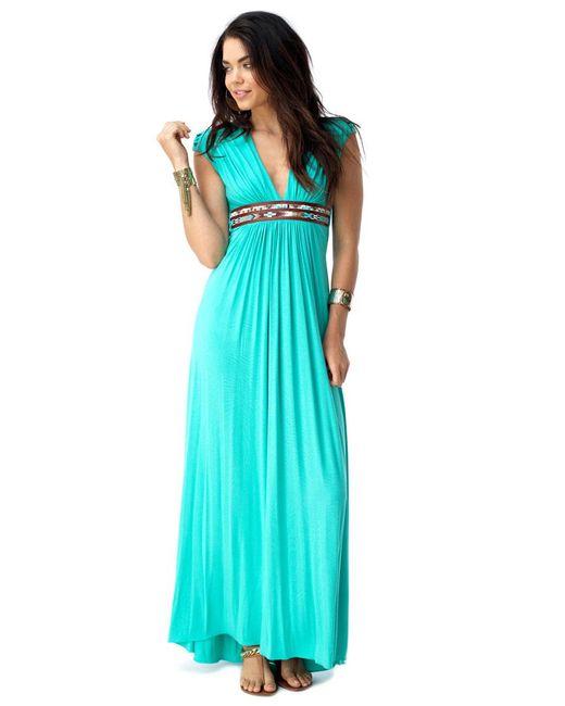 Sky - Blue Olwyn Maxi Dress - Lyst
