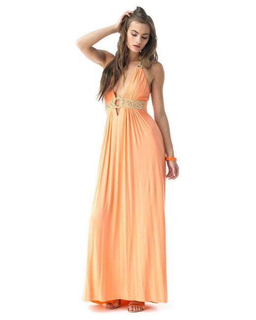 Sky - Orange Chiena Maxi Dress - Lyst