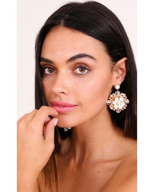Showpo | Multicolor Aphrodite Earrings In Gold | Lyst