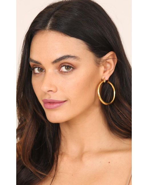 Showpo | Multicolor Reversed Earrings In Gold | Lyst