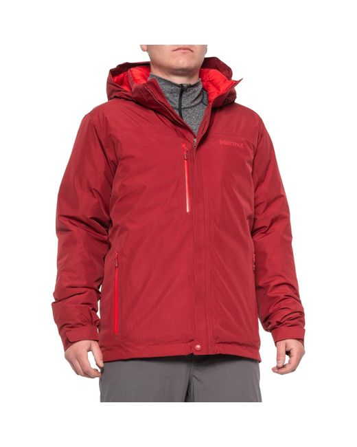 Marmot Red Synergy Featherless Gore-tex(r) Jacket for men