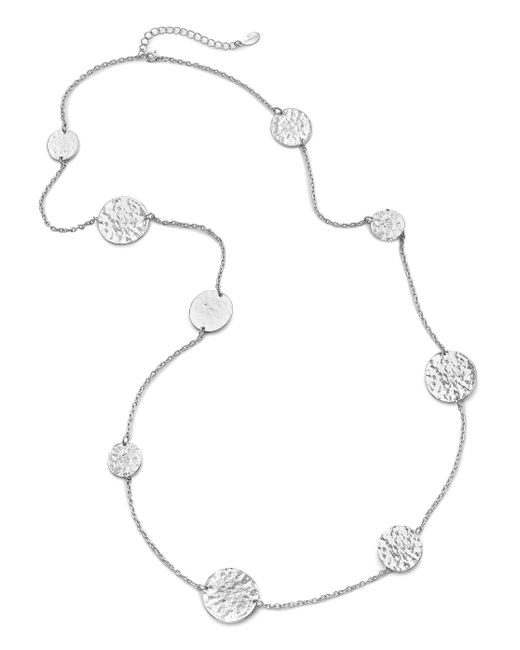 Simply Be - Metallic Coin Necklace - Lyst