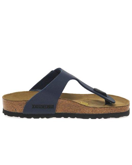 Birkenstock - Blue Gizeh Women?s Sandals - Lyst