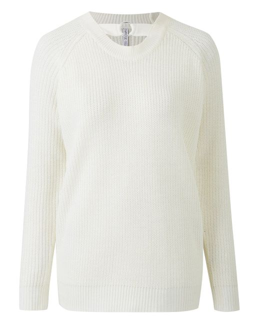 Simply Be - White O-ring Sweater - Lyst