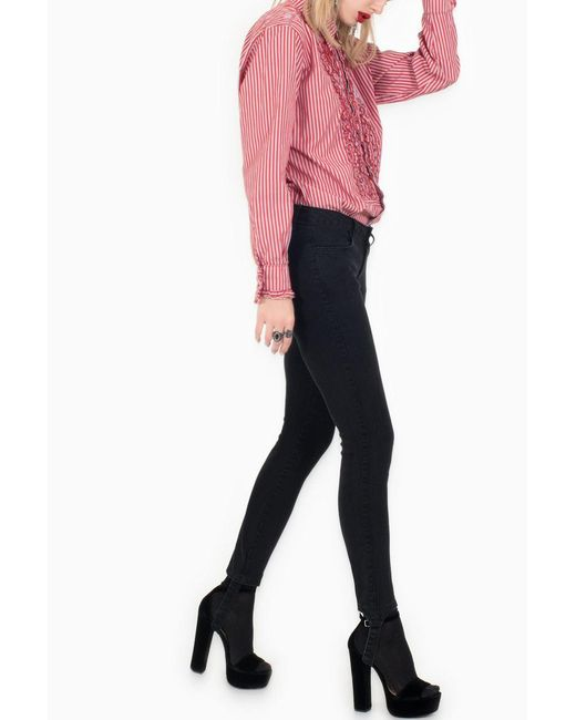 Siwy - Reed In Black Mirror Jeans - Lyst