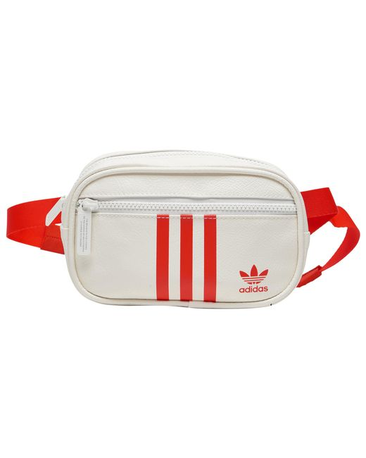 a6b8f0dcd34 Lyst - adidas Originals Pu Leather Vday Waist Pack in White for Men