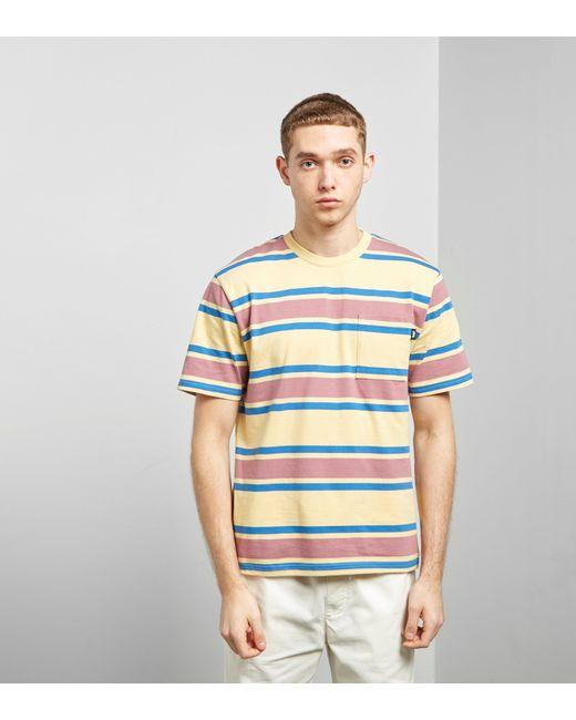 Stussy - Multicolor Bold Stripe T-shirt for Men - Lyst