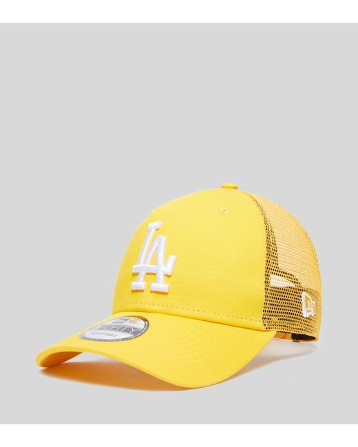 KTZ - Yellow Los Angeles 9forty Trucker Cap- Size  Exclusive for Men - Lyst  ... ebdc393f2fc6